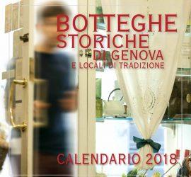 calendario botteghe storiche di genova 2018